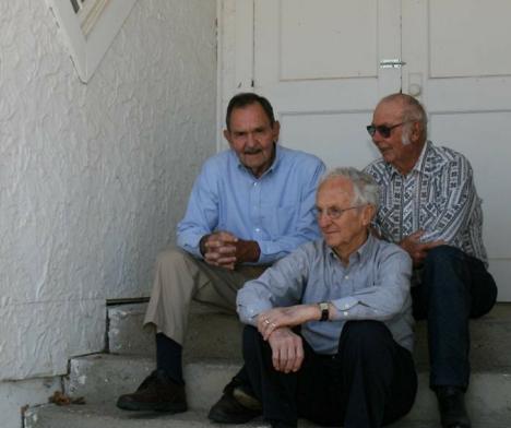 Phil, Wes and Bill at the Bala Church